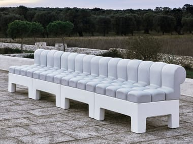 Sectional modular sofa MODÌ ZERO | Sectional sofa