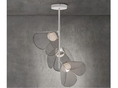 Lampada da soffitto a LED in alluminio MOD PF/73/3L