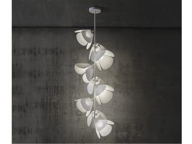 Lampada da soffitto a LED in alluminio MOD PF/73/9L