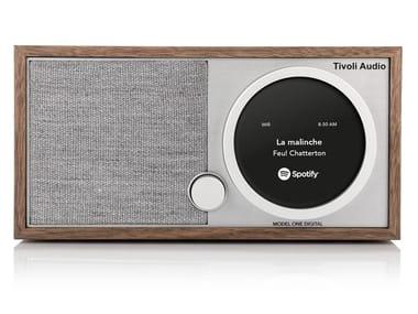 Radio Bluetooth digitale in legno MODEL ONE DIGITAL+