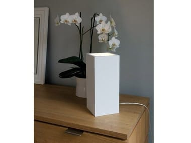 Plaster table lamp MODENA
