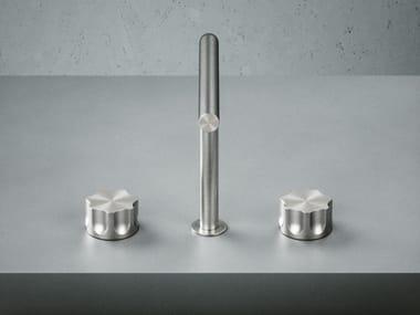 3 hole countertop washbasin mixer MODO 17 32V