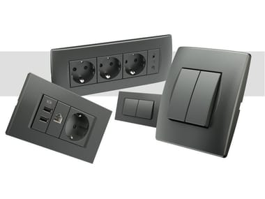 Wiring accessories ANTHRACITE NEW MODUL COLOUR