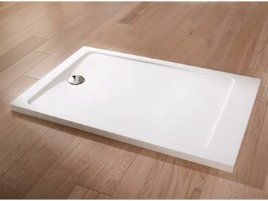 Rectangular Krion® shower tray MODUL | Shower tray