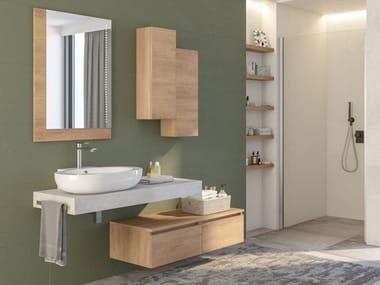 Mobile lavabo componibile sospeso COMPONIBILE 2