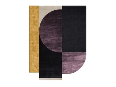 Rug with geometric shapes MODULAR