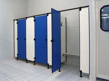 HPL toilet partition MODULAR WALL AG/S