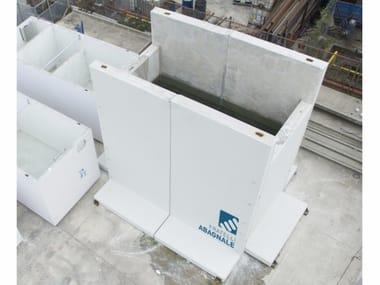 Moduli prefabbricati autostabili in cemento SISTEMA MODULO A