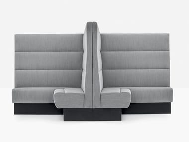 Sectional high-back sofa MODUS MDAB