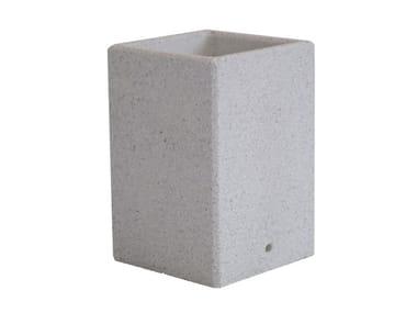 Fioriere in conglomerato di marmo e cemento MOGADISCIO