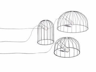 Lampadaire LED en acier enduit de poudre MOGURA | Lampadaire