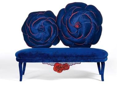 Velvet small sofa MOI ET LA ROSE