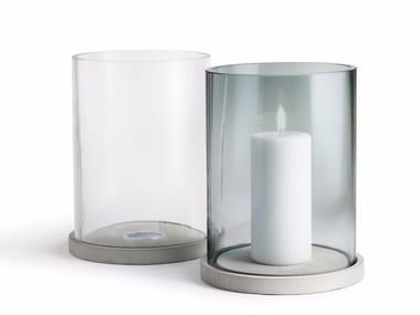 Glass candle holder MOJA