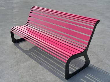 Panchina in acciaio MOKO | Panchina