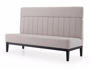 Contemporary style fabric small sofa MOLEDO