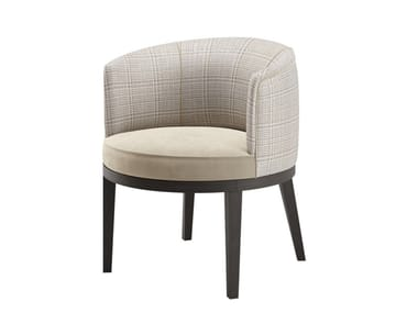 Fabric armchair with armrests MONACO | Easy chair with armrests