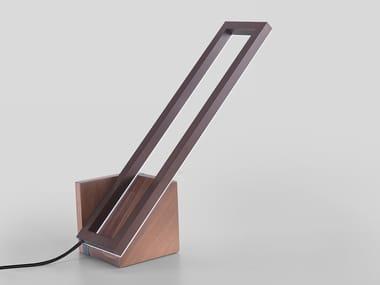 Direct light aluminium desk lamp with dimmer MONDRIAN TAVOLO