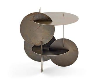 Metal coffee table MONETE