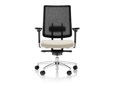 Design bürostuhl  Swivel task chair with 5-Spoke base with armrests COZA By Boss Design