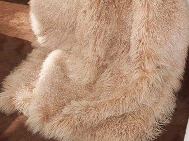Plaid in pelle di capra mongolica MONGOLIA