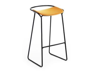 High upholstered stool MONK | Stool