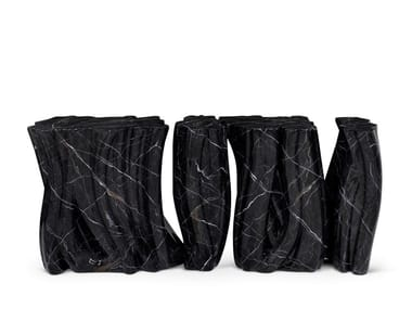 Consolle in resina MONOCHROME FAUX-MARBLE | Consolle
