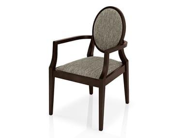 Cadeira de tecido com braços MONOLISA | Cadeira com braços