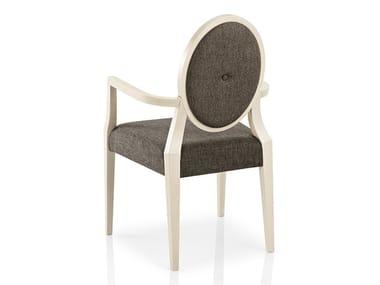 Cadeira de tecido com braços MONOLISA | Cadeira de restaurante