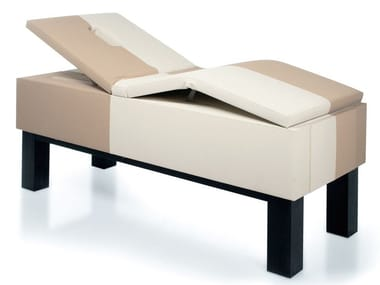 Electric Eco-leather massage bed MONOLITH MAC