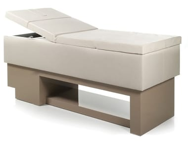 Electric leather massage bed MONOLITH WASH