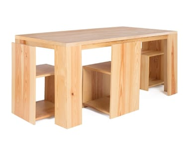 Wooden chair / table MONTE