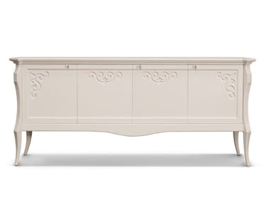Lacquered sideboard with doors MONTECARLO | Sideboard