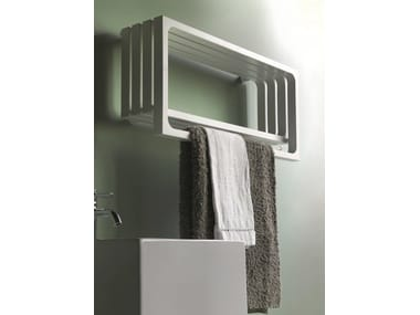 Horizontal wall-mounted towel warmer MONTECARLO | Horizontal towel warmer