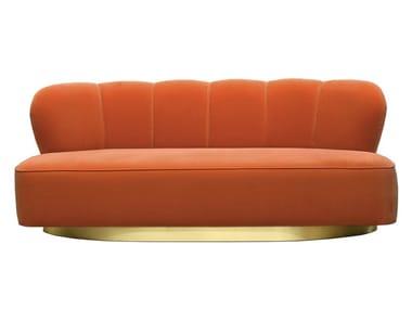 2 seater velvet sofa MONTI