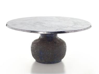 Round ceramic table MOON 34-36
