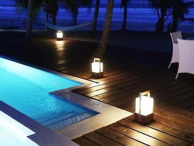 Lampade da terra per esterno in legno archiproducts