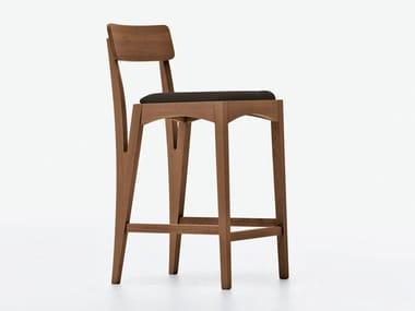 High stool with footrest MORAAR | Stool