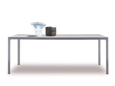 Rectangular metal table MORE | Rectangular table