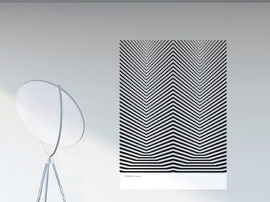 Decorazione adesiva optical in PVC MORFOLOGIA | Poster