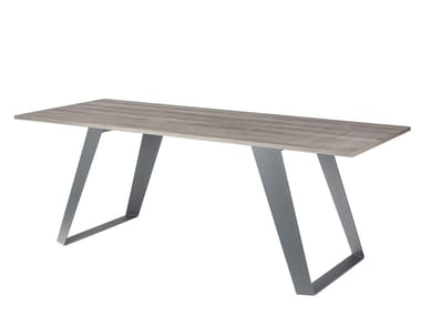 Rectangular dining table MORGAN