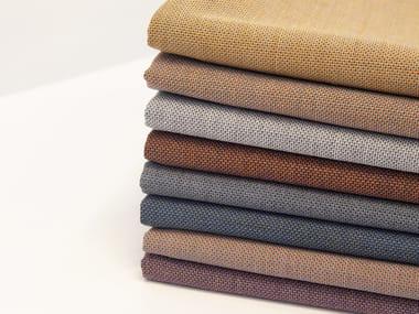 Multi-coloured wool fabric MORPH