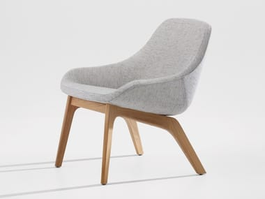 Upholstered armchair MORPH LOUNGE