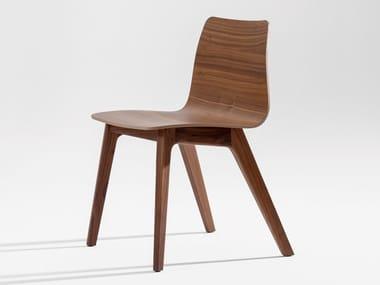 Chaise en bois massif MORPH PLUS