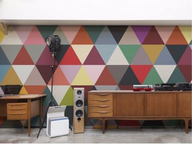 Geometric wallpaper MOSAIC
