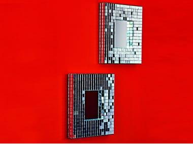 Square framed mirror MOSAIC | Square mirror