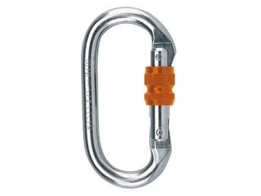 Personal protective equipment MOSCHETTONE OVALE ALLUMINIO 20KN