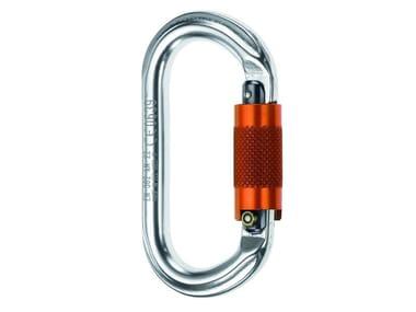 Personal protective equipment MOSCHETTONE OVALE ALLUMINIO 25KN