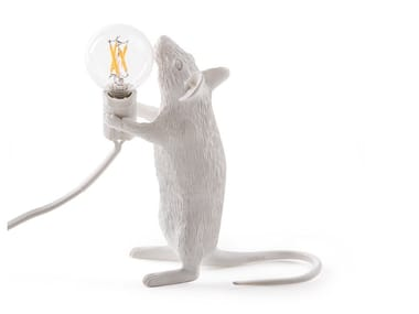 LED resin table lamp MOUSE LAMP STANDING - STEP