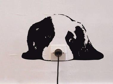 Vinyl wall sticker MOUSTACHE - ZOO CHIOT