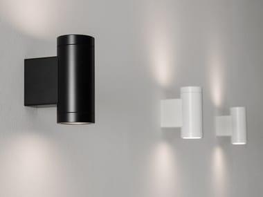 Lampada da parete a LED orientabile in alluminio MOVIDA